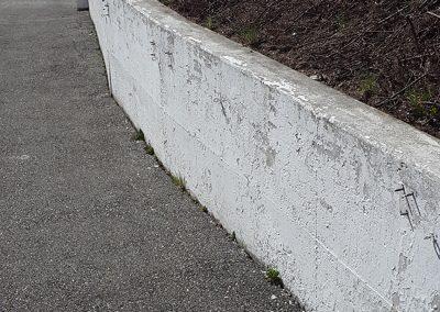 Rénovation mur