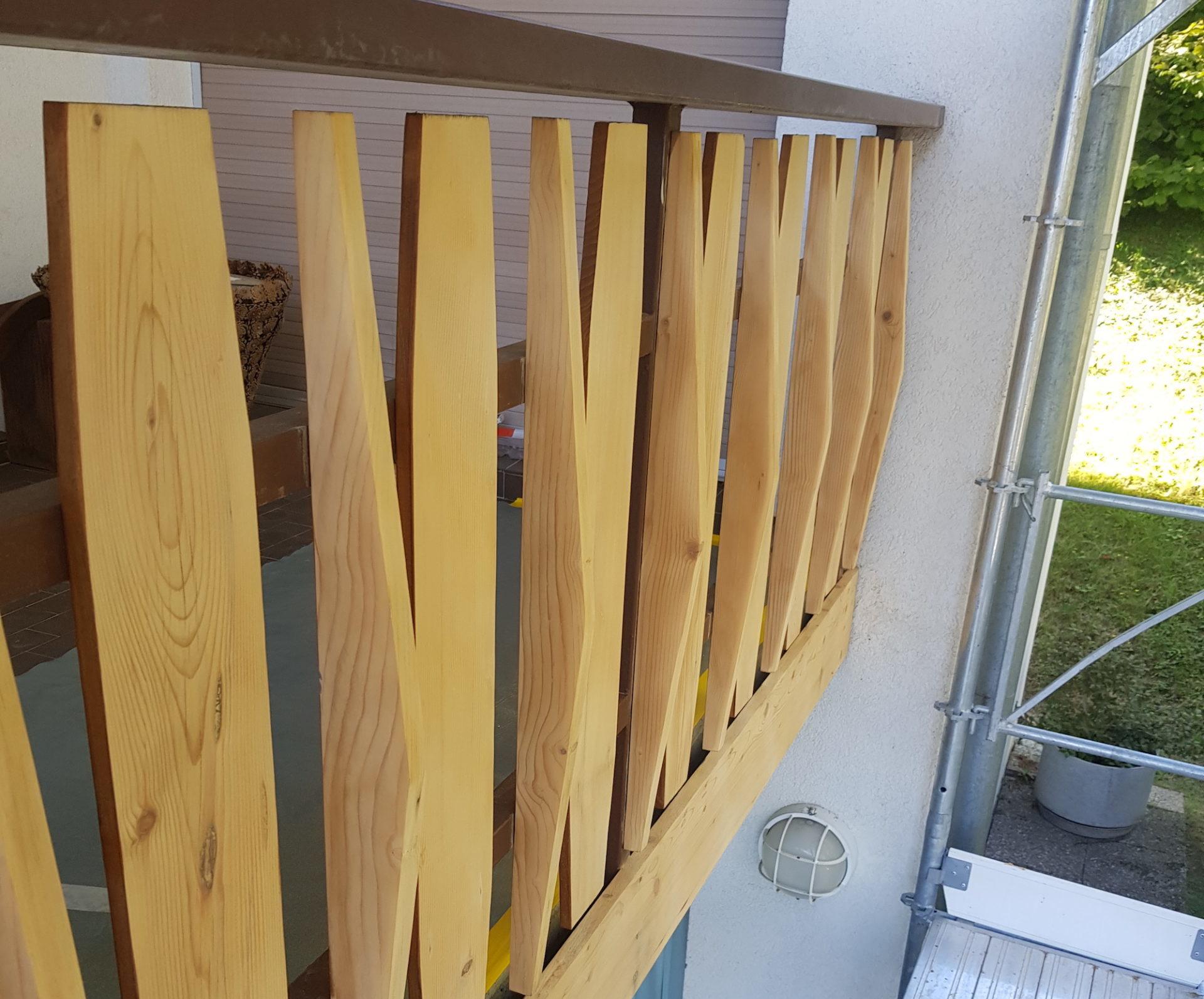 Décapage balcon